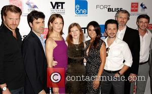 Dash Mihok, Ron Livingston, Michelle Monaghan, Claudia Myers, Emmanuelle Chriqui, Freddy Rodriguez, John Sullivan and Adam Silver