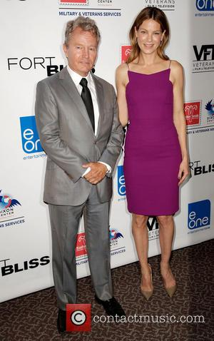 John Savage and Michelle Monaghan - Stars attended a special screening of new war drama movie 'Fort Bliss' at the...