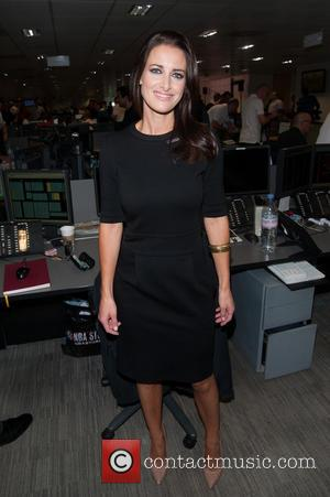 Kirsty Gallacher - A host of British Celebrities were helping out at the 2014 BGC Fundraising Day on the trading...