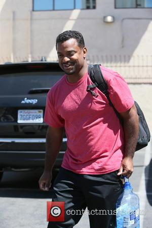Alfonso Ribeiro - Season 19's Celebrities of Dancing with the Stars and their dance partners photographed at a dance studio...