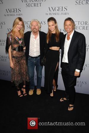 Martha Hunt, Richard Branson, Camille Rowe and Russell James - Russell James'