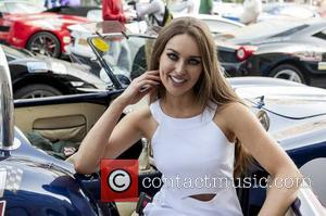 Rozanna Purcell - CANNONBALL 2014 departs from The Point Village, Dublin, Ireland - 12.09.14. - Dublin, Ireland - Friday 12th...