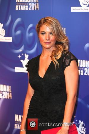 Gemma Atkinson - 2014 National Lottery Awards - Arrivals - Buckinghamshire, United Kingdom - Friday 12th September 2014