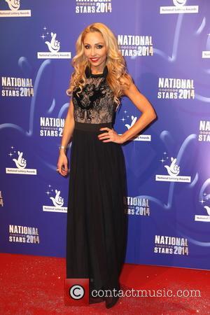 Iveta Lukosiute - 2014 National Lottery Awards - Arrivals - Buckinghamshire, United Kingdom - Friday 12th September 2014