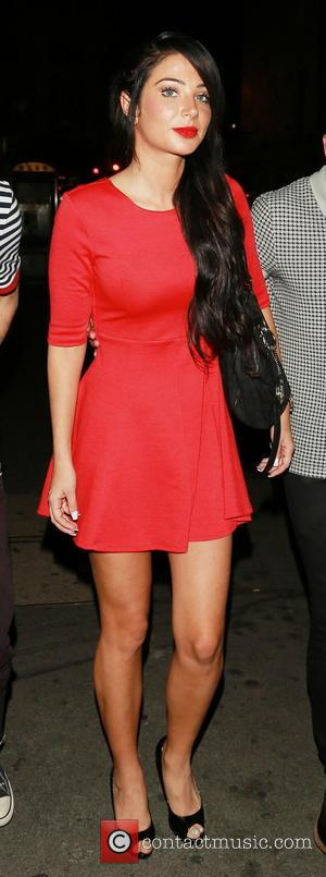 Tulisa Contostavlos - Celebrities leave the Arts Theatre - London, United Kingdom - Friday 12th September 2014