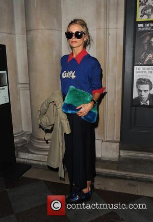 Laura Bailey - London Fashion Week Spring/Summer 2015 - Felder Felder - Arrivals - London, United Kingdom - Friday 12th...