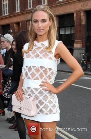 Kimberley Garner - Kimberley Garner sighted at London Fashion Week, London - London, United Kingdom - Friday 12th September 2014