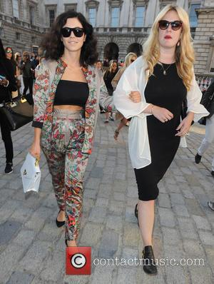 Marina Diamandis, Marina and the Diamonds - LFW s/s 2015 - Felder Felder - Arrivals - London, United Kingdom -...