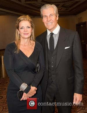 Martine Reardon and Terry Lundgren