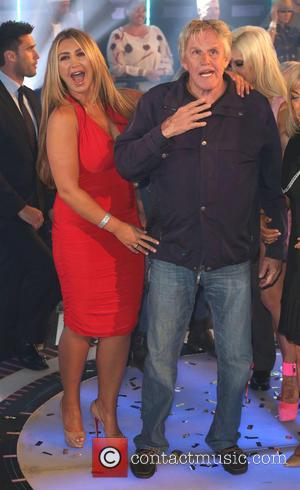 Gary Busey and Lauren Goodger - Celebrity Big Brother 2014 - Final - London, United Kingdom - Friday 12th September...