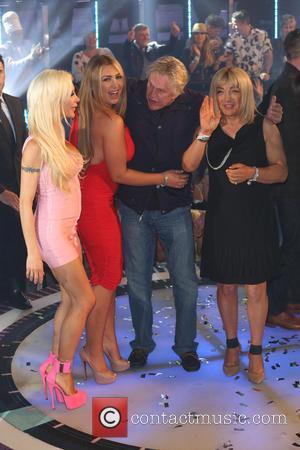 Gary Busey, Lauren Goodger and Kellie Maloney - 'Celebrity Big Brother' final - London, United Kingdom - Friday 12th September...