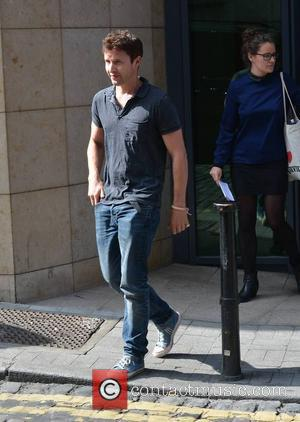 James Blunt - Singer James Blunt seen leaving Today FM, Dublin, Ireland - 12.09.14. - Dublin, Ireland - Friday 12th...