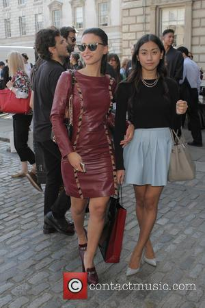 Leah Weller - London Fashion Week Spring/Summer 2015 - Celebrity Sightings - London, United Kingdom - Friday 12th September 2014