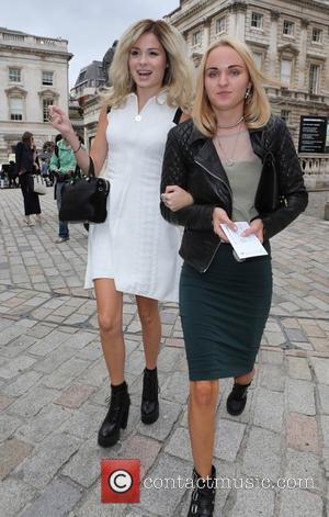 Nina Nesbitt - London Fashion Week Spring/Summer 2015 - Celebrity Sightings - London, United Kingdom - Friday 12th September 2014