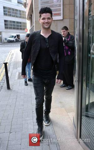 Danny O'Donoghue - The Script (Glen Power, Danny O'Donoghue, Mark Sheehan) at Today FM appearing on the Dermot & Dave...