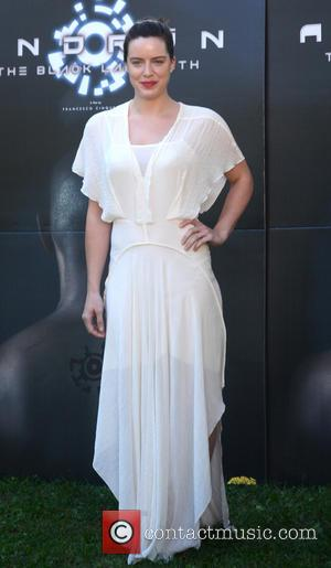 Michelle Ryan - Stars attend the photocall for new Sci-Fi/Action Film 'Andron - The Black Labyrinth' at La Casa Del...