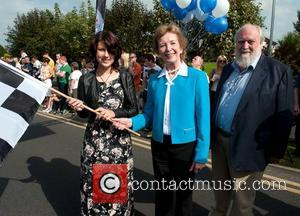 Caoimhe McDermot-Quinn, Mary Robinson and Nick Robinson