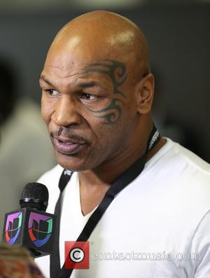 Mike Tyson - Ex professional boxers including James 'Lights out' Tony, Shawn Porter and Mike Tyson were photographed at the...