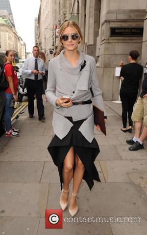 Olivia Palermo - Celebrities seen as they arrive at London Fashion Week for the Emilia Wickstead Spring Summer 2015 collection...