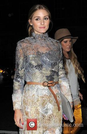 Olivia Palermo - London Fashion Week Spring/Summer 2015 - Marchesa - Arrivals - London, United Kingdom - Saturday 13th September...