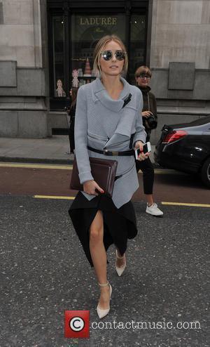 Olivia Palermo - LFW s/s 2015 - Emilia Wickstead - Arrivals - London, United Kingdom - Saturday 13th September 2014