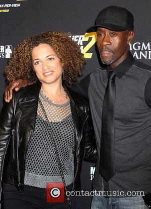 Don Cheadle and Bridgid Cheadle - Stars attend the pre-fight party ahead of the Mayhem: Mayweather vs. Maidana 2 fight...
