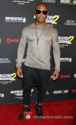 Tank - Stars attend the pre-fight party ahead of the Mayhem: Mayweather vs. Maidana 2 fight held at MGM Hotel...