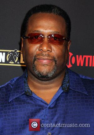 Wendell Pierce - Stars attend the pre-fight party ahead of the Mayhem: Mayweather vs. Maidana 2 fight held at MGM...