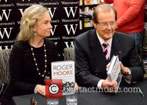 Sir Roger Moore and Kristina Tholstrup
