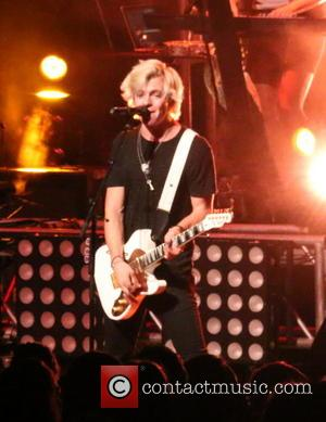 Ross Lynch and R5 - Ross Lynch and R5 perform live in concert at the Henderson Pavilion - Henderson, Nevada,...