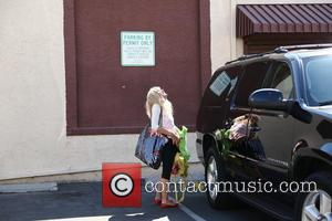Betsey Johnson - Betsey Johnson arrives at the Dancing With the Stars season 19 rehearsal studio for a final practice...