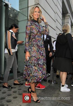 Lady Victoria Hervey - London Fashion Week Spring/Summer 2015 - Vivienne Westwood - Departures - London, United Kingdom - Sunday...