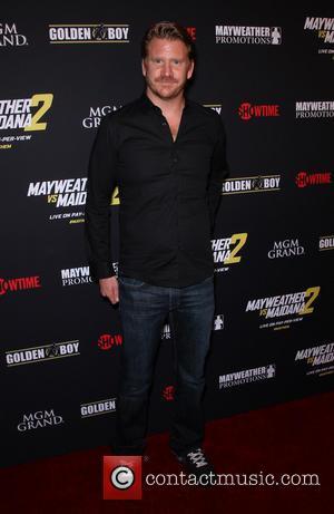 Dash Mihok - Stars were photographed at Showtime's Mayhem: Mayweather vs. Maidana 2 fight held at MGM Hotel & Casino...