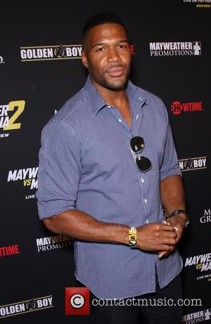 Michael Strahan - Stars were photographed at Showtime's Mayhem: Mayweather vs. Maidana 2 fight held at MGM Hotel & Casino...