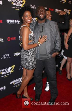 Omar Dorsey - Stars were photographed at Showtime's Mayhem: Mayweather vs. Maidana 2 fight held at MGM Hotel & Casino...