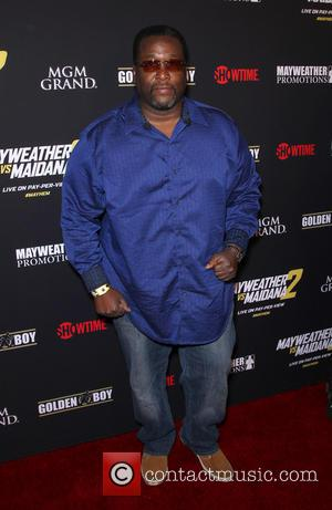 Wendell Pierce - Stars were photographed at Showtime's Mayhem: Mayweather vs. Maidana 2 fight held at MGM Hotel & Casino...