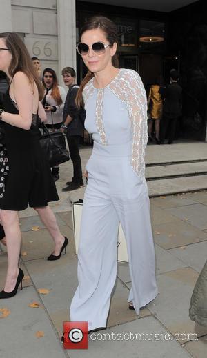 Anna Friel - London Fashion Week Spring/Summer 2015 - Celebrity Sightings - London, United Kingdom - Sunday 14th September 2014