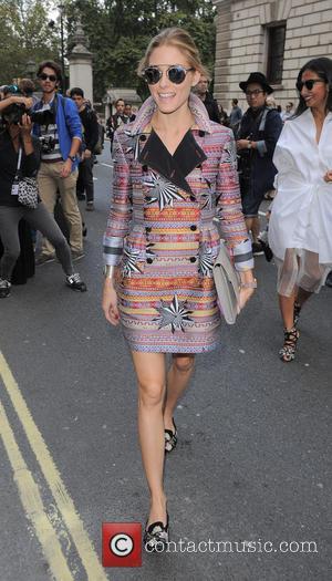 Olivia Palermo - London Fashion Week Spring/Summer 2015 - Celebrity Sightings - London, United Kingdom - Sunday 14th September 2014