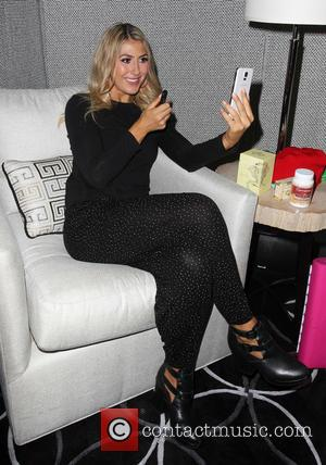 Emma Slater - 'The celebrities from season 19 of 'Dancing with the Stars' photographed at the Backstage Gifting Suite in...