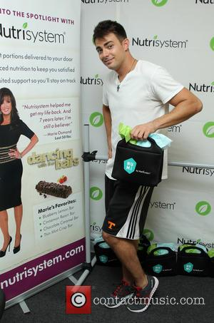 Jonathan Bennett - 'The celebrities from season 19 of 'Dancing with the Stars' photographed at the Backstage Gifting Suite in...