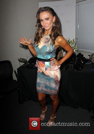 Karina Smirnoff - 'The celebrities from season 19 of 'Dancing with the Stars' photographed at the Backstage Gifting Suite in...