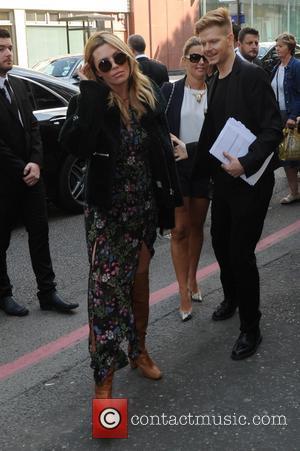 Abigail Clancy - London Fashion Week Spring/Summer 2015 - Topshop Unique - Outside Arrivals - London, United Kingdom - Sunday...