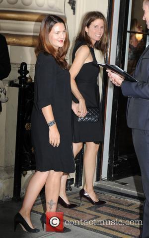 Drew Barrymore, London Fashion Week