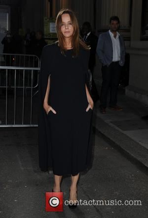 Stella McCartney - A list celebrities were photographed as they arrive at London Fashion Week Spring/Summer 2015 for the Stella...