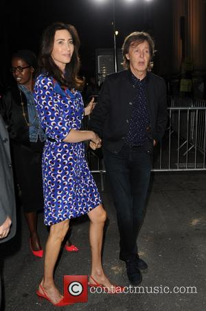 Paul Mccartney and Nancy Shevell