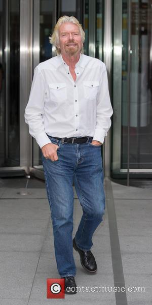Sir Richard Branson - Sir Richard Branson leaving BBC Broadcasting House in Portland Place - London, United Kingdom - Monday...