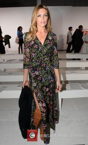 Abbey Clancy - London Fashion Week Spring/Summer 2015 - House of Holland - Front Row - London, England, United Kingdom...