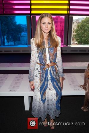 Olivia Palermo - LFW s/s 2015: Peter Pilotto fashion show  - front row and catwalk held at Queen Elizabeth...