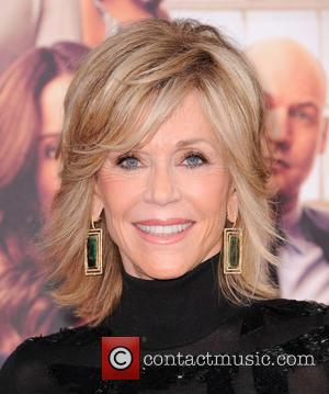 Jane Fonda - Stars of new film 'This Is Where I Leave You' were photographed on the red carpet for...