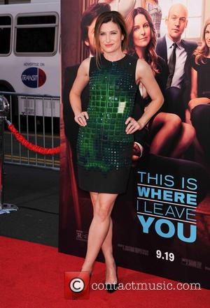 Kathryn Hahn - Stars of new film 'This Is Where I Leave You' were photographed on the red carpet for...